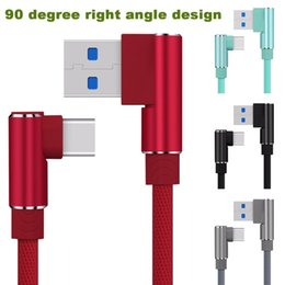 $enCountryForm.capitalKeyWord Australia - Right Angle Usb-c Type C Data&sync Faster Charger Cable For Samsung Galaxy S8