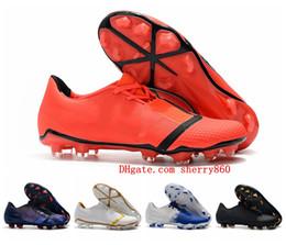 Venom shoes online shopping - 2019 mens soccer shoes Phantom VNM Elite FG soccer cleats cheap Phantom Venom FG football boots botas de futbol