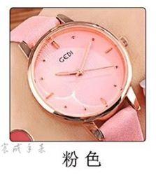 $enCountryForm.capitalKeyWord Australia - Korean version of small dial simple fashion female table low-key luxury students waterproof rose gold belt girls watch