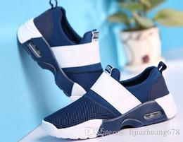 $enCountryForm.capitalKeyWord NZ - 2019 Summer new men's shoes breathable mesh casual fashion Korean style air cushion sports shoes couple light shoes