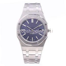 Großhandel Luxusuhr 42mm volles Edelstahlband automatische Golduhr leuchtende hochwertige Armbanduhr Saphir orologio di lusso 5ATM wasserdicht