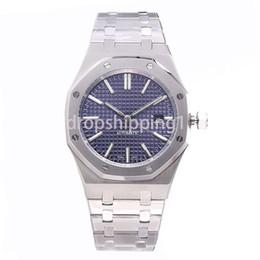Vente en gros montre de luxe 42mm bracelet en acier inoxydable automatique montre en or lumineux top qualité montre bracelet saphir orologio di lusso 5ATM étanche