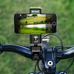 Cell Phone Bands Australia - Bike Phone Mount Smartphone Handlebar Cell Phone Mobile Universal GPS Holder Bicycle Motorcycle Silicone Band #181590