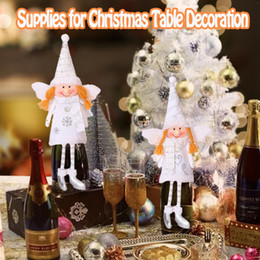 $enCountryForm.capitalKeyWord Australia - Christmas Angel Plush Doll Girl Pendant Christmas Tree Decoration For Home Xmas Party Kids Gift Bedroom Table Wine Decoration