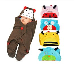 $enCountryForm.capitalKeyWord Australia - Newborns Kids Sack Stroller Sleeping Bag Baby Conditioning thicker autumn winter Blanket Strollers Bed Swaddle Wrap 1pc