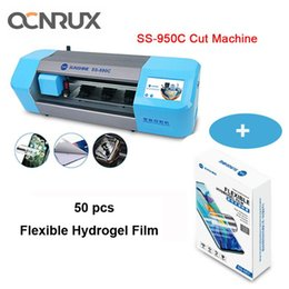 Sol SS-890C Auto Film máquina de corte para o telefone móvel Tablet frente de vidro tampa traseira Proteja Film fita protetora Cut Ferramenta em Promoção