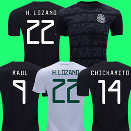 655d8a2e46b Mexico Men online shopping - 2019 mexico soccer jerseys LOZANO CHICHARITO  gold cup football shirt DOS