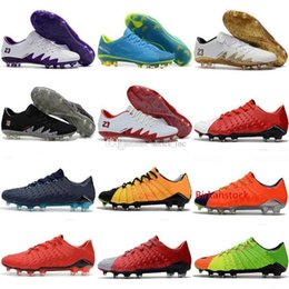 football clay Australia - New Hypervenom Phantom III Mens soccer shoes Russia world football low top authentic Special sneakers size 39-45