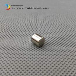 Neodymium Magnet Disc N35 Australia - 50 Pcs Dia. 6.35x6.35 Mm Magnet Ndfeb Disc Magnet Neodymium Permanent Magnets Grade N35 Nicuni Plated Axially Magnetized
