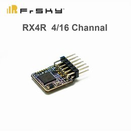 Toy Remote Helicopters NZ - Original Frsky RX4R Receiver 4 16 channel with dual antenna receiver for RC Helicopter Toys & Hobbies Remote Control Toys Parts & Accs