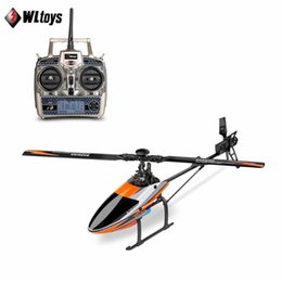 $enCountryForm.capitalKeyWord NZ - wholesale V950 RC Helicopter 2.4G 6CH 3D 6G System switched freely High efficiency Brushless Motor RTF Stronger Wind Resistance Toy