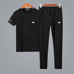 $enCountryForm.capitalKeyWord NZ - priceSummer new recommended men's short-sleeved head sports set cotton material comfortable and breathable embroidery printing leisure