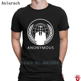 Anonymous T-Shirt Family Personalized Hiphop Top Short Sleeve Men's Tshirt Spring Loose Costume Round Neck New Style