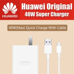 $enCountryForm.capitalKeyWord Canada - Original Huawei 40W Super Charge USB Fast Charger Type C Data Cable for huawei p10 plus mate 20 lite p20 pro