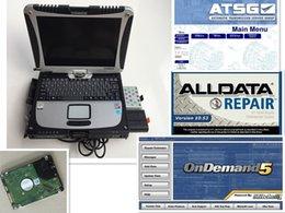 Alldata v10.53 + mitchell on demand 2015 + logiciels 3 HD sur disque dur de 1 To + Ordinateur portable cf-19 Prêt à utiliser DHL gratuitement