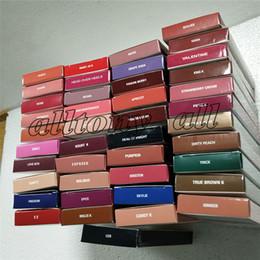 Hot 40colors KL Pintalabios Lipgloss Perfilador de labios Lipkit Velvetine Líquido Mate Kits Velvet Makeup Lápiz delineador en stock KeyShadow Beauty