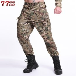 $enCountryForm.capitalKeyWord NZ - Tactical Pants Cargo Pants Men Combat Camo Camouflage Trousers Casual Work Trousers SWAT Thin Pocket Baggy 5XL