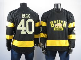 ice hockey player NZ - 2018 Boston Bruins Jerseys The Best Player Of 40 Tuukka Rask Jersey High Quality Embroidered Men's Ice Hockey Jerseys Stitched S-2XL