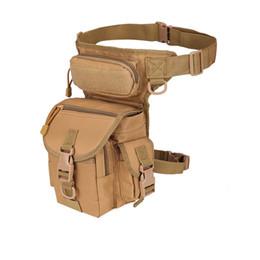 Multi Camera Bags Australia - Outdoor Sport Bag Camping Hiking Trekking Waist Leg Bag Military Tactical Shoulder Camera bags Multi-function Saddle #861541