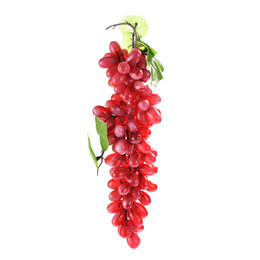 $enCountryForm.capitalKeyWord UK - Simulation Fruits PU 110 Grain Grapes Kitchen Toys for Children Kids Pretend Play Toys Home Wedding Party Garden Decor
