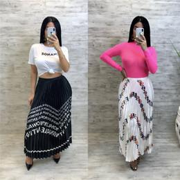 5d589f66e Women high Waisted long skirts online shopping - Fends FF Women Accordion Pleated  Skirt Lady High