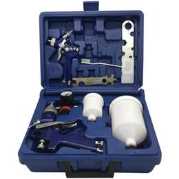WETA HVLP Spray Paint Gun H827 + H2000 Set 1,4 + 1.0mm Airbrush Airless Spritzpistole Für Malerei Autos Pneumatische Werkzeug USA 2-5 Tage im Angebot