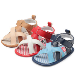 $enCountryForm.capitalKeyWord Canada - PU Leather Soft Sole New Baby Moccasins Child Summer Boys 3 Style Fashion Sandals Sneakers Infant Shoes 0-18 Month Baby Sandals