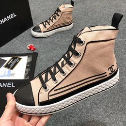 $enCountryForm.capitalKeyWord NZ - Women Shoes Fashion Boots 2019 Ankle High Top Flats Breathable Factory Women Casual Shoes Luxury Sneaker Bottes Femmes with Origin Box Hot