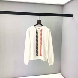 Schwarzer Roter Pullover Streifen Online Großhandel
