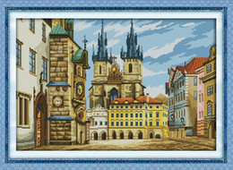 $enCountryForm.capitalKeyWord Australia - Russian architecture home decor painting ,Handmade Cross Stitch Embroidery Needlework sets counted print on canvas DMC 14CT  11CT