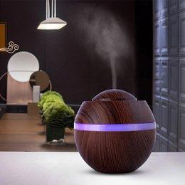 8c0b0d7108 ENVÍO GRATIS Ventas directas del fabricante Humidificador de Aromaterapia  de Madera Creativa USB Color Lámpara de Noche Mini Humidificador de  Purificación ...