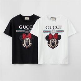 fashion for short girls NZ - Hot Fashion Brand Designer T-Shirts For Girls Mens Tshirt Short Sleeves Shirts Womens Summer Letter Print Tees Top Quality B1YH0 2031605V