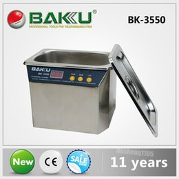 ultrasonic cleaning steel Australia - BAKU Stainless Steel Ultrasonic Cleaner,High Quality & Best price.Use for PCB Circuit Board Consumer Electronics,Fruit,DVR.