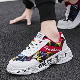 new trend canvas shoe 2019 - The new spring men's shoes Korean version of the trend of men's casual fashion student canvas shoes men discou