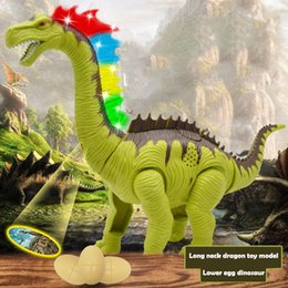 toy dinosaurs walk 2019 - 2019 Novelty Glowing Dinosaurs Plastic Walking Simulation Dinosaur for Toy Drop Shipping cheap toy dinosaurs walk