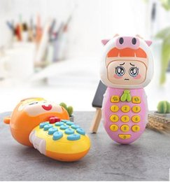 Children Toy Mobile Australia - Toy mobile phone children 0-1-3 years old can bite anti-saliva simulation baby baby girls with music phone