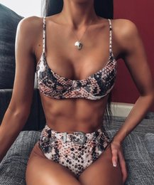bikinis l NZ - Designers Swimsuit Women Bikini Swimwear 2020 In Stock Sexy Bathing Suits Two-Piece Womens Swimsuits With Tags S-L 203