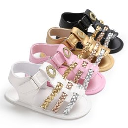 $enCountryForm.capitalKeyWord NZ - Baby Girls Shoes Toddler PU Leather Summer First Walkerborn Infant Soft Sole Antislip Prewalkers