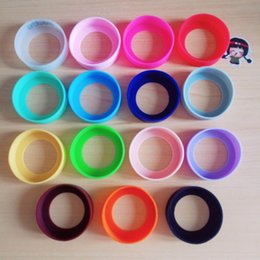 $enCountryForm.capitalKeyWord Australia - new Bottom Protective Cover Cap rubber Cup Sleeve silicone coasters for Vacuum Insulated Stainless Steel Travel Mug Water Bottle