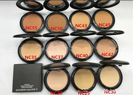 $enCountryForm.capitalKeyWord Australia - 60 pcs NC Foundation Brand Make-up Studio Fix Powder Cake Easy to Wear Face Powder Blot Pressed Powder Sun Block Foundation X139
