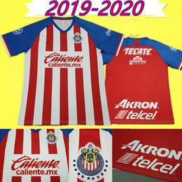 78a48a6f4b3 19 20 Chivas jersey mexico 2019 2020 soccer jersey guadalajara uniforms Top  Thailand quality football shirt  11 BRIZUELA  9 PULIDO  7 E.VEGA