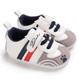 new sport baby walker 2019 - Newborn Baby Boys Girls Sneakers Leather Sports Crib Soft First Walker Shoes Hot New Baby Girl Boy Sneaker Comfort Sport
