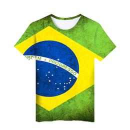 69fcd449c new Brazil National Flag 3d T Shirt Men women Fashion Harajuku High Quality  Brazilian Flag 3d Print Casual Men's T Shirt
