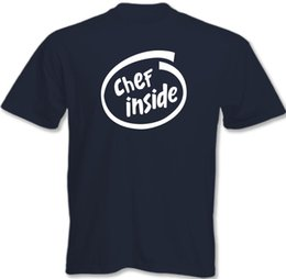 $enCountryForm.capitalKeyWord UK - Chef Inside - Mens Funny T-Shirt Cooking Gift Present Cook