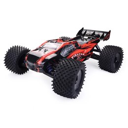 ZD 1:8 08423 rc model electric four-drive brushless truck Red and gray on Sale