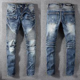 $enCountryForm.capitalKeyWord Australia - 2019 Summer New Man Up Jeans Washing In Waist Small Straight Foot Trousers#1077