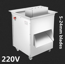 food process machine UK - 220v 1500w extra-large vertical QD meat cutting machine,meat slicer,meat cutter,1500kg hr meat processing machinery (5-24mm blade optional)