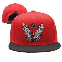 Wing Hats NZ - Halsey Wings arrow pop music Design Snapback Flat Brim Baseball Cap Hip-Hop Sun Hats Adjustable Comfort
