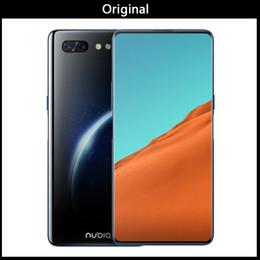 Dual Screen Digital Cameras Canada - ZTE Nubia X Mobile Phone 8GB 128GB Snapdragon 845 Octa Core 6.26+5.1'' Dual Screen 16+24MP Camera 3800mAh Fingerprint Phone