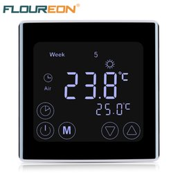 $enCountryForm.capitalKeyWord Australia - Floureon LCD Thermostat Water Electric floor Heating Water Gas Boiler Temperature Controller Weekly Programmable Thermoregulator